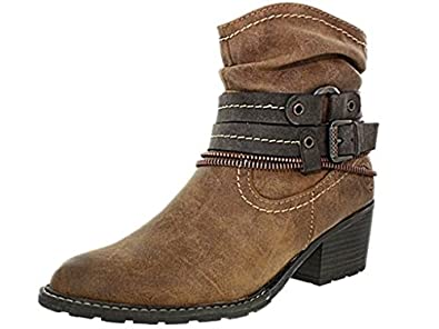 Marco Tozzi e24mtozzi038 marron - Chaussures Bottine Femme