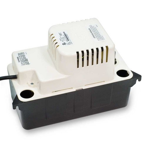 VCMA-20ULST, 80 GPH, 230 V In-Pan Condensate Removal Pump w/ Safety Switch & Tubing