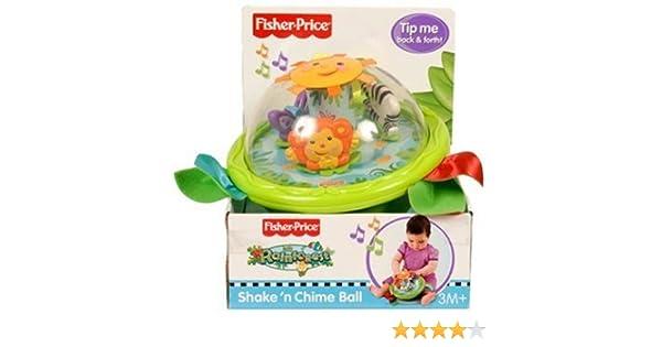 Fisher-Price - Pelota Selva recién Nacidos (Mattel): Amazon.es ...