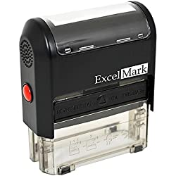 Custom Self Inking Rubber Stamp - 3 Lines (42A1539)