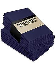 Utopia Kitchen Cloth Napkins, 12 Pack (18 x 18 Inches), Cotton Dinner Napkin (Navy)