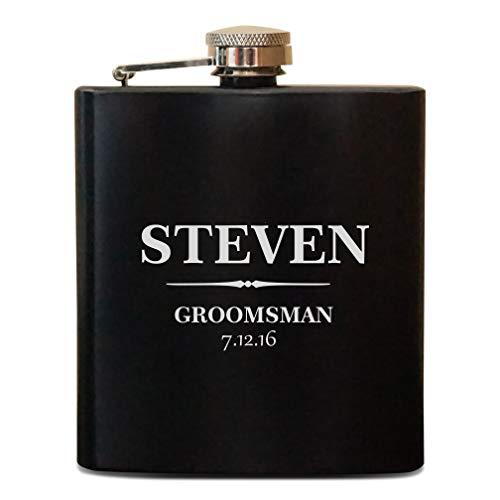 Personalized Flasks For Groomsmen, Best Man Flasks, Mens