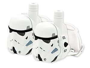 Star Wars - Reloj Walkie-Talkie, Color Blanco (Lexibook TW100SW)