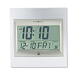 Techtime II Universal Titanium Digital Calendar Alarm Clock