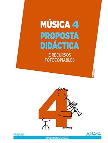 Descargar Libro Música 4. Proposta Didáctica. Manuel Rico Verea