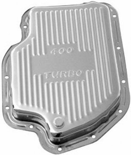 Racing Power Company R9121 Chrome Finned Transmission Pan
