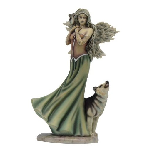 Fairy Site Winter Woods Fairy Figurine By Jessica Galbreth