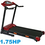 "ABEXCEED­® FOLDING TREADMILL ELECTRIC FOLDING TREADMILL WITH MP3 INPUT AND BUILT-IN SPEAKERS LED DISPLAY RUNNING MACHINE MOTORISED TREADMILL 1.75 HP MOTOR WEIGHT LOSING MACHINE COMES WITH ""FREE"" AEROBIC TWIST DISC"