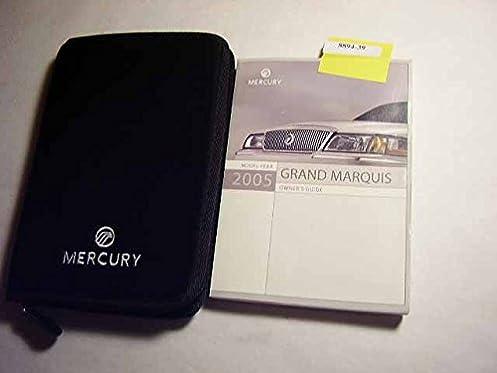 2005 mercury grand marquis owners manual mercury amazon com books rh amazon com 2005 Grand Marquis Problems 2005 mercury grand marquis repair manual