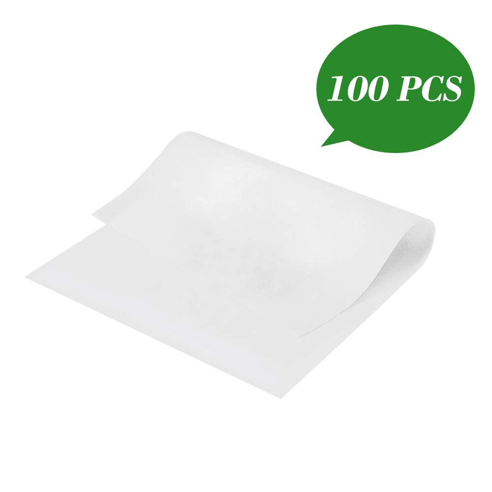 Parchment Paper, 7.5 x11.5 Inch Non Stick Baking Sheet Parchment Sheets for BBQ, Bread, Cook, Grill, Steam, Baking Pan, Cake, Air fryers -100 Count