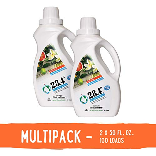23.4 Degree Life's Perfect Balance Liquid Fabric Softener, 2 Units, Vanilla Citrus, 100 Fluid Ounce