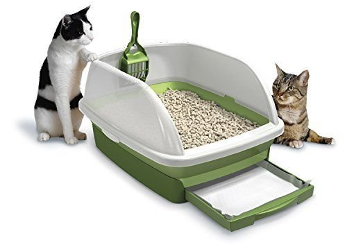 Hot Litter Boxes Tidy Cats Cat Litter, Breeze, Litter Box Kit System, 1 Kit, (Grasssaver Tablets)
