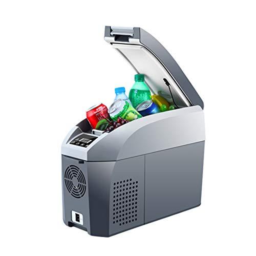Tx- Portable Compressor Fridge Freezer, 12 V|24 V|220V - Grey|White (Size : 17L)