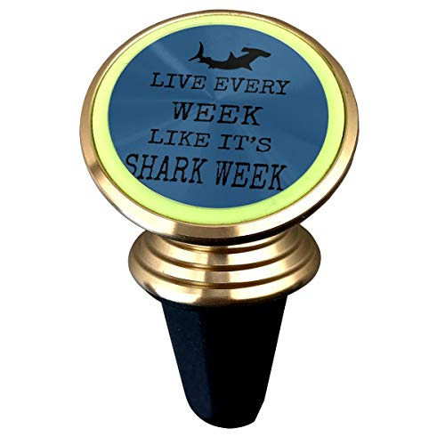 Live Every Week Like Shark Week Magnetic Phone Car for sale  Delivered anywhere in Canada