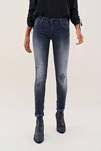 Premium Up Azzuro Skinny Salsa Jeans Wash Push Wonder ZfWwx1nqX