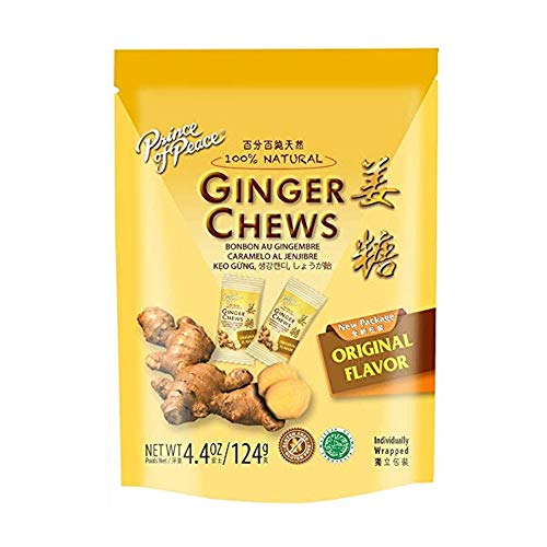 (Prince of Peace 100% Natural Ginger Candy -- 4.4 oz)
