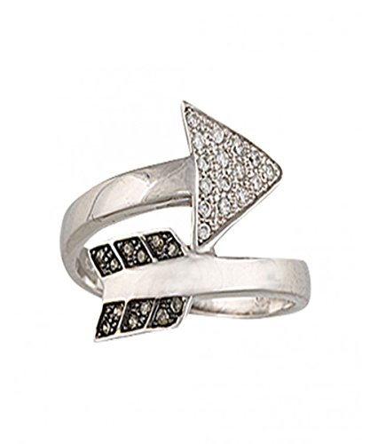 Montana Silversmiths Womens Wrap Arrow Ring Silver lUw59p