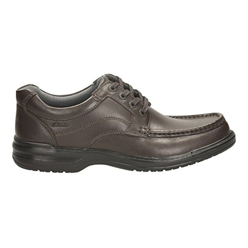 Clarks Keeler Walk Brown Leather 8½ UK H / 42½ EU