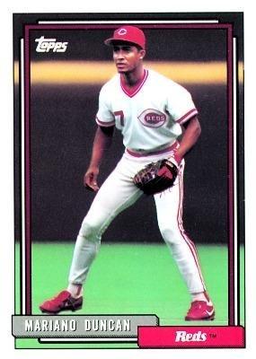 Amazoncom 1992 Topps Baseball Card 589 Mariano Duncan