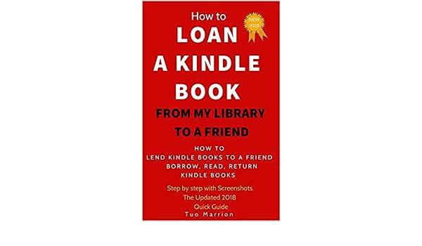 can you lend kindle books