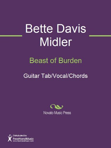 Beast of Burden - Kindle edition by Bette Midler, Keith Richards ...
