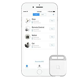 nonda AIKO Finder, Rechargeable, Easy to Use iOS/Android App, Louder Beep, Longer Battery Life. Key Finder, Phone Finder, Wallet Finder, Anything Finder, Smart Bluetooth Tracker for Pet/Car/Luggage