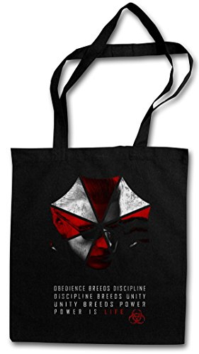 WESKER UMBRELLA Hipster Shopping Cotton Bag Cestas Bolsos Bolsas de la compra reutilizables Resident Corporation Zombi Corp Evil Logo Dead Biohazard Zombie Nemesis Game Movie