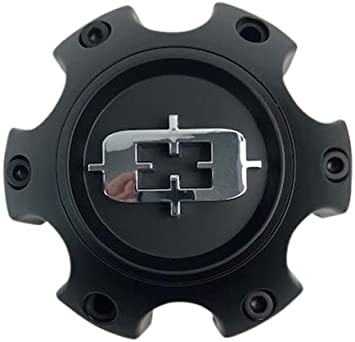 Vision Wheels C416SB-6V Satin Black Center Cap