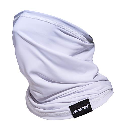 UNKN Womens and Mens Christmas Printing Breathable Face Turban Skin-Friendly Reusable Adjustable Dust Windproof