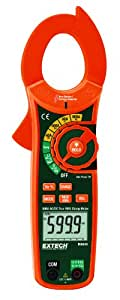 Extech MA640 True RMS AC/DC 600A Clamp Meter with Non-Contact Voltage Detector
