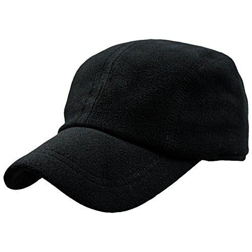 eYourlife2012 Mens Winter Warm Thermal Polar Fleece Outdoor Baseball Caps Hats with Earmuffs