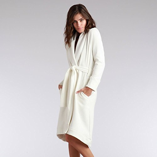 UGG Women's Duffield Robe Cream Robe XS
