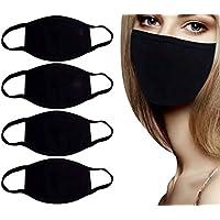 5 mascarillas de protección para la cara, unisex