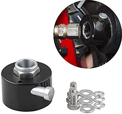 "3//4/"" Shaft Size Car Steering Wheel Quick Release Disconnect Hub Pull Ring 3 Bolt"