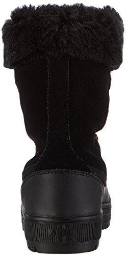 Aigle Leblonie Stiefel, Botas de Nieve para Mujer negro - Schwarz (Black 9)