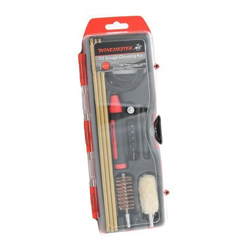 - Winchester Cleaning Kits DAC WIN12HY Winchester Cleaning Kits, 12 Gauge Hybrid Cleaning Kit, 16Piece