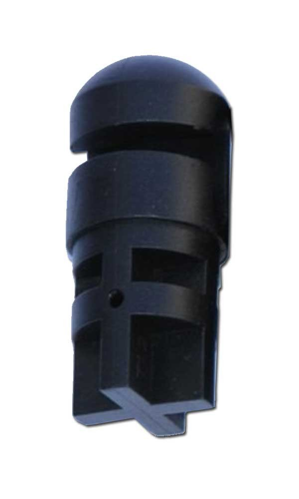 Trampoline Safety Net Enclosure Parts (Plastic End Tube Caps) - Quantity: A Full Set of 6-Flex Models-The Original- OEM Equipment by Trampoline Part Store (Image #1)
