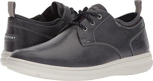 Rockport Men's Zaden Plain Toe Ox Shoe, Dark Shadow, 10.5 M US (Rockport Casual Oxford)