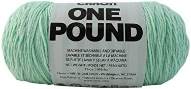 Medium Gauge 812 Yards Caron One Pound Solids Yarn - Color Assortment 4