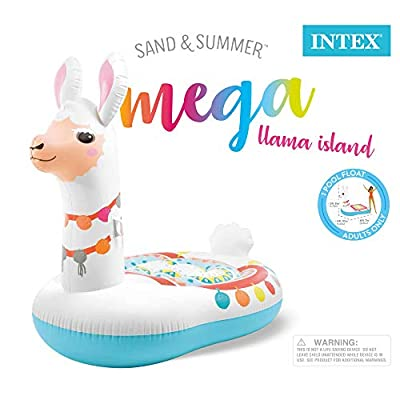 Intex Mega Llama Inflatable Island, 79in x 58in x 68in: Toys & Games