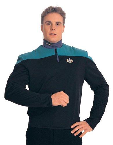 Dr. Bashir Star Trek Costume Uniform Shirt (Teal) - Adult Large
