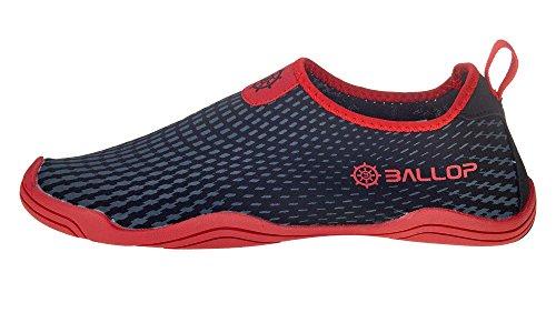 BALLOP Voyager, Zapatillas unisex adulto negro
