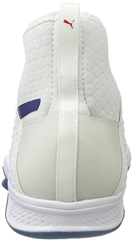 Unisex white blue Adulto Netfit toreador Interior Evospeed Depths 1 Deportivas Blanco Zapatillas Para Indoor Puma aR8wqBP7