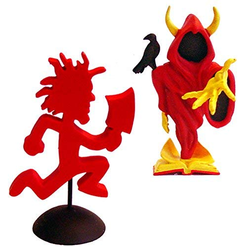 Insane Clown Posse Collectibles: 2006 SOTA TOYS ICP Hatchetman & Wraith Statues