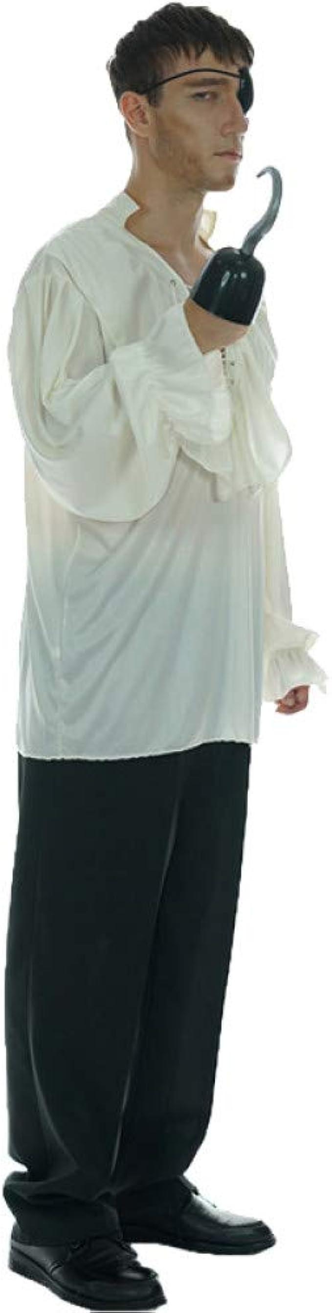 ZAOWEN Disfraz De Halloween Disfraz De Camisa Blanca Vestido De Disfraces De Adultos para Hombres para Fiesta De Carnaval De Halloween: Amazon.es: Ropa y accesorios