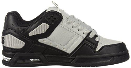 EU 39 Light Brigade Homme Lacets Ville à Noir Black Grey de Black Osiris pour White Chaussures WTZqZUnf