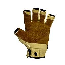 Metolius Grip 3/4 Finger Glove Natural / Black Small
