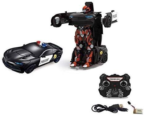 RC Robot Transformer Car Wireless Remote Control 2.4GHz Light /& Sound