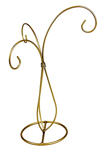 3 Arm Metal Ornament Display Tree