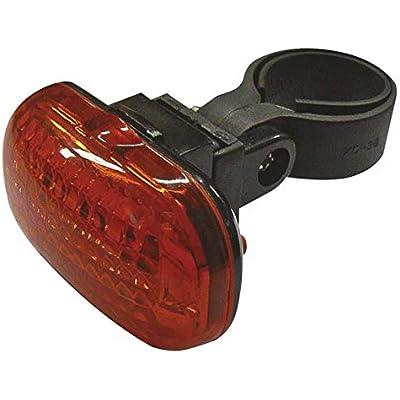 FELIXMANIA Luz Trasera Bicicleta Mochila LED roja Resistente al Agua Varios Modos de luz
